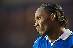 LONDON, ENGLAND - Wednesday, May 6, 2009: Chelsea's Didier Drogba during the UEFA Champions League Semi-Final 2nd Leg match against Barcelona at Stamford Bridge. (Photo by David Rawcliffe/Propaganda)