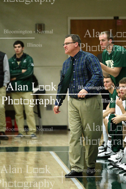 10 January 2015:  Ron Rose during an NCAA mens division 3 CCIW basketball game between the Carthage Reds and the Illinois Wesleyan Titans in Shirk Center, Bloomington IL