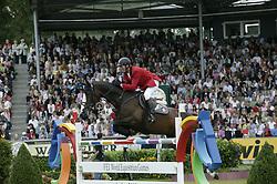 Lansink Jos-Isovlas Pialotta<br /> World Equestrian Games Aachen 2006<br /> Photo © Hippo Foto