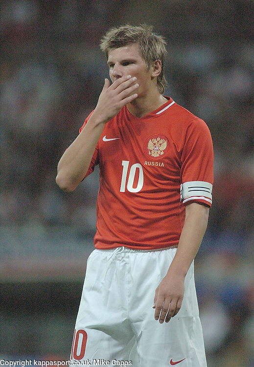 ANDREY ARSHAVIN, Russia,   England-Russia, UEFA Euro 2008 Qualifier, Wembley 12/9/07
