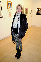 CAMILLA STOPFORD-SACKVILLE at a Pop Up exhibition of Fine Art held at the Broadbent Gallery, 25 Chepstow Corner, Chepstow Place, London W2 on 7th December 2010.