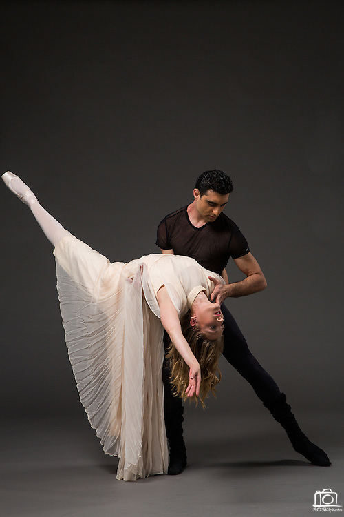 Bay Pointe Ballet marketing photos for Bruce Steivel's Dracula, photographed at Bay Pointe Ballet in South San Francisco, California, on May 13, 2015. (Stan Olszewski/SOSKIphoto)