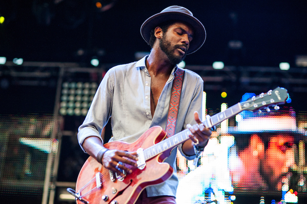 Gary Clark Jr. at North Coast Music Festival 2013