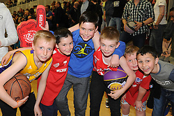 Bristol Flyers fans - Photo mandatory by-line: Robbie Stephenson/JMP - Mobile: 07966 386802 - 18/04/2015 - SPORT - Basketball - Bristol - SGS Wise Campus - Bristol Flyers v Leeds Force - British Basketball League