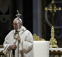 November 18, 2018 - Vatican City, Vatican - Pope Francis celebrates Holy Mass for the World Day of the Poor in St. Peter's Basilica in Vatican City. (Credit Image: © Giuseppe Ciccia/Pacific Press via ZUMA Wire)