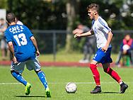 FODBOLD: Anders Ø. Knudsen (Herlev) under kampen i Danmarksserien mellem Herlev Fodbold og Jægersborg Boldklub den 17. juni 2017 i Herlev Park. Foto: Claus Birch