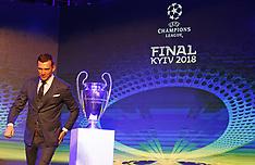Presentation of the logo of the 2018 UEFA Champions League - 12 Dec 2017