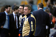 Millwall Manager Neil Harris looking at the pitch during the EFL Sky Bet League 1 match between Millwall and Shrewsbury Town at The Den, London, England on 10 December 2016. Photo by Matthew Redman.