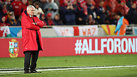 Rugby Union - 2017 British & Irish Lions Tour of New Zealand - First Test: New Zealand vs. British & Irish Lions<br /> <br /> Warren Gatland Head Coach of The British and Irish Lions at Eden Park, Auckland.<br /> <br /> COLORSPORT/LYNNE CAMERON