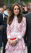 VANCOUVER -BC- CANADA - 25th-Sept 2016. <br /> The Duke and Duchess of Cambridge on their official visit to Canada.<br /> William and Kate visit the Immigrant Services of British Columbia, a charitable service providing services to refugees.<br /> William and Kate were greeted and accompanied on their visit by Canadian Prime Minister Justin Trudeau and wife Sophie.<br /> ©Exclusivepix Media