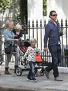 04.MAY.2011. LONDON<br /> <br /> GAVIN ROSSDALE OUT AND ABOUT WITH HIS CHILDREN IN PRIMROSE HILL, LONDON<br /> <br /> BYLINE: EDBIMAGEARCHIVE.COM<br /> <br /> *THIS IMAGE IS STRICTLY FOR UK NEWSPAPERS AND MAGAZINES ONLY*<br /> *FOR WORLD WIDE SALES AND WEB USE PLEASE CONTACT EDBIMAGEARCHIVE - 0208 954 5968*