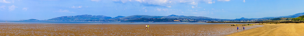 View from Lisfallon Beach overlooking Lough Swilly and the Inishowen peninsula towards the Urris Hills and Buncrana at 135mm offering stunning levels of detail.<br />