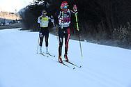 44° Marcialonga di Fassa e di Fiemme, a sinistra Norgren Britta e Smutna Katerina, 29 gennaio 2017 © foto Daniele Mosna