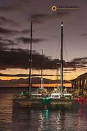 Catamaran boat tours in Kauai, Hawaii, USA