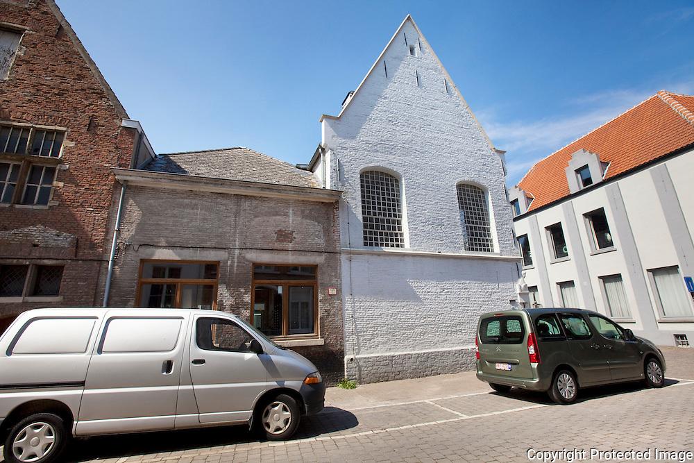 359760-nieuwe kinderopvang wordt ondergebracht in oude school-klein begijnhof Mechelen