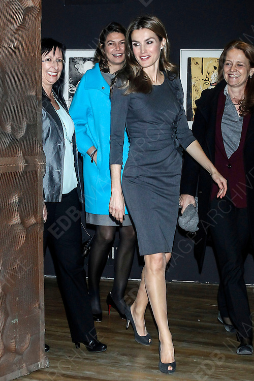29.NOVEMBER.2012. MADRID<br /> <br /> PRINCESS LETIZIA ATTENDS THE MAGISTERIO GALA AWARDS AT CAIXA FORUM IN MADRID, SPAIN.<br /> <br /> BYLINE: EDBIMAGEARCHIVE.CO.UK<br /> <br /> *THIS IMAGE IS STRICTLY FOR UK NEWSPAPERS AND MAGAZINES ONLY*<br /> *FOR WORLD WIDE SALES AND WEB USE PLEASE CONTACT EDBIMAGEARCHIVE - 0208 954 5968*