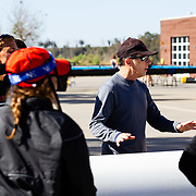19 April 2018: The San Diego State women's rowing team takes on UCSD for the Patty Wyatt Perpetual Trophy on the Otay Reservoir at the Chula Vista Elite Athlete Training Center.<br /> More game photos at sdsuaztecphotos.com
