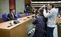 Nederland. Den Haag, 4 februari 2009.<br /> Fotografen voor aanvang van het debat bij vak K.<br /> Debat over Irak in de Tweede Kamer. De Tweede Kamer debatteert over het plan van premier Jan Peter Balkenende om een onderzoekscommissie in te stellen naar de besluitvorming rond Irak in 2003. Balkenende kondigde maandag aan dat hij de jurist Willibrord Davids heeft gevraagd deze commissie te leiden. <br /> Foto Martijn Beekman<br /> NIET VOOR PUBLIKATIE IN LANDELIJKE DAGBLADEN.