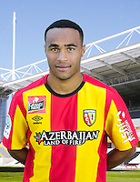 Nadjib BAOUIA - 30.10.2015 - Portrait Officiel - Lens<br /> Photo : RC Lens / Icon Sport