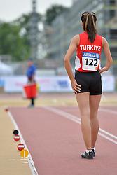 04/08/2017; Genc, Esra, F47, TUR at 2017 World Para Athletics Junior Championships, Nottwil, Switzerland