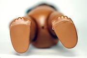 brown doll feet