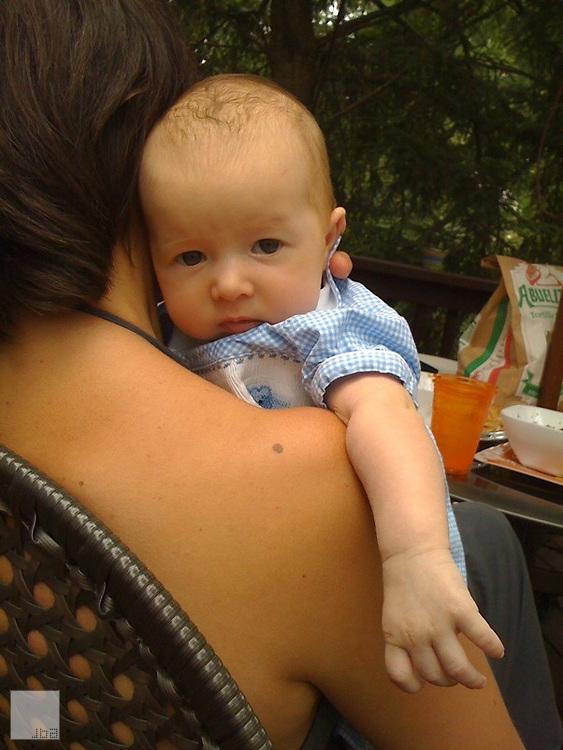 Tee, the baby.