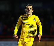 Bristol Rovers defender Tom Lockyer during the Sky Bet League 2 match between Crawley Town and Bristol Rovers at the Checkatrade.com Stadium, Crawley, England on 21 November 2015. Photo by Bennett Dean.
