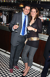 EDWARD TAYLOR and LADY KATE FORTESCUE at a party to launch the Frankie's TLC Card and the TLC Clubcard held at Frankie's Knightsbridge, 3 Yeomans Row, London SW3 on 1st February 2006.<br />