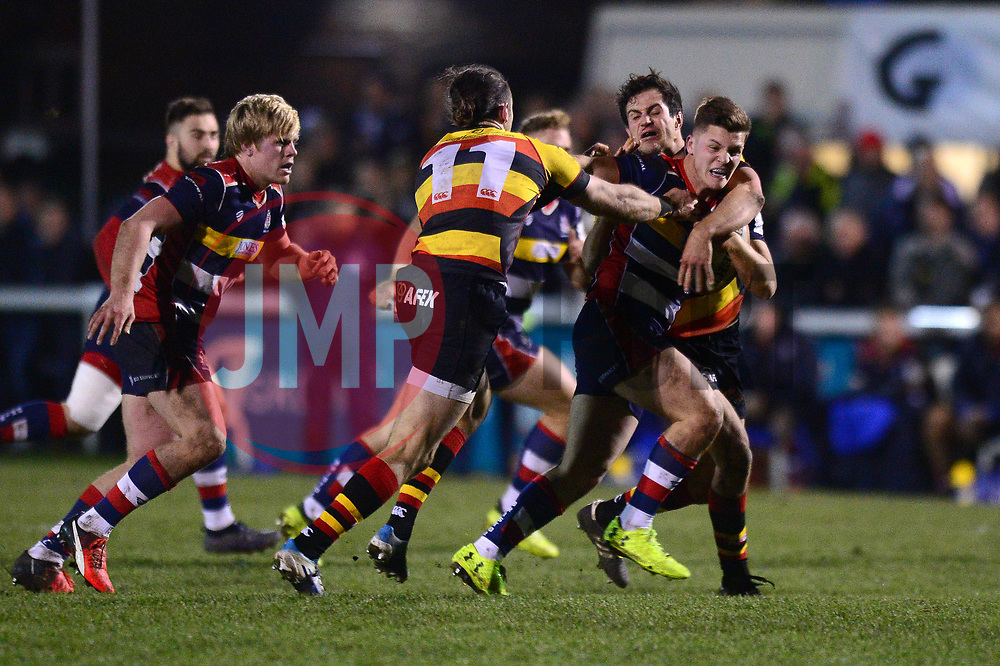 Callum Sheedy of Bristol Rugby - Mandatory by-line: Dougie Allward/JMP - 30/12/2017 - RUGBY - The Athletic Ground - Richmond, England - Richmond v Bristol Rugby - Greene King IPA Championship