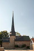 Feiningerkirche Gelmeroda, Weimar, Thüringen, Deutschland | Feininger church, Gelmeroda, Weimar, Thuringia, Germany