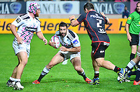 Geoffrey DOUMAYROU / Corey FLYNN - 24.04.2015 - Stade Francais / Stade Toulousain - 23eme journee de Top 14<br />Photo : Dave Winter / Icon Sport