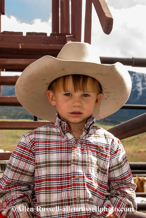 Young Cowboy With Cowboy Hat Allen Russell Photography