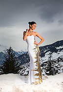 05:03:2013 ..Former Miss Scotland Nicola Lafferty talks about her life as a wag in Switzerland where she lives with son Taylor and husband Kyle, a stoker with FC Sion...Nicola models exclusively high in the Swiss Alps... Pic:Andy Barr..07974 923919  (mobile).andy_snap@mac.com..All pictures copyright Andrew Barr Photography. ..Please contact before any syndication. .