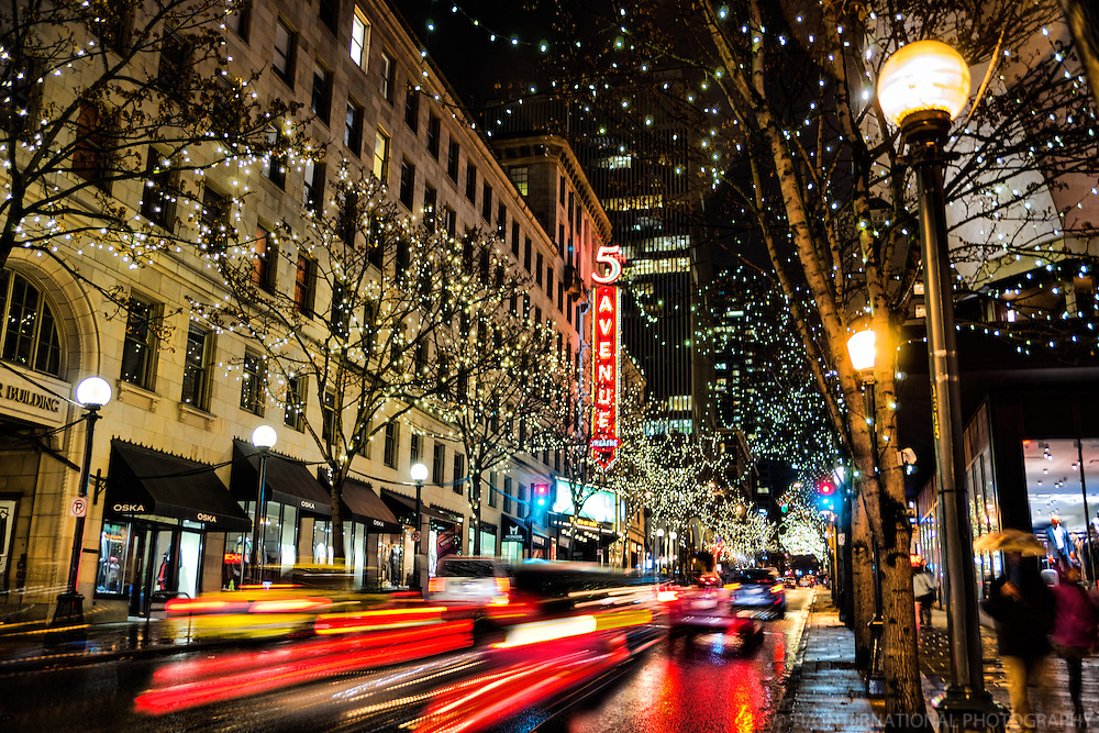 5th Avenue, Downtown Seattle