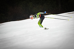 Ana Marija Lampic (SLO) during the Ladies sprint free race at FIS Cross Country World Cup Planica 2019, on December 21, 2019 at Planica, Slovenia. Photo By Grega Valancic / Sportida