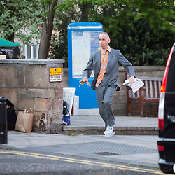 Trainspotting 2 filming in Edinburgh 10/5/2016