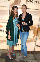 Left to right, MICHELE BAROUH and model JODIE KIDD  at Michele Watches Kaleidoscope Summer Garden Party held at Home House, Portman Square, London on 15th June 2005.<br /><br />NON EXCLUSIVE - WORLD RIGHTS