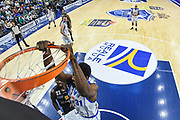 Gani Lawal<br /> Banco di Sardegna Dinamo Sassari - Dolomiti Energia Aquila Basket Trento<br /> Legabasket Serie A LBA Poste Mobile 2016/2017<br /> Playoff Quarti Gara3<br /> Sassari 16/05/2017<br /> Foto Ciamillo-Castoria