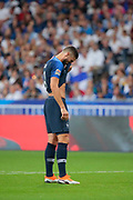 Olivier Giroud (FRA) missed the ball during the UEFA Nations League, League A, Group 1 football match between France and Netherlands on September 9, 2018 at Stade de France stadium in Saint-Denis near Paris, France - Photo Stephane Allaman / ProSportsImages / DPPI