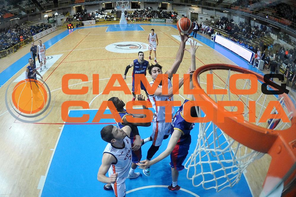 Patrick Baldassarre<br /> Viola Reggio Calabria - Novipiu Casale Monferrato<br /> Campionato Basket LNP 2016/2017<br /> Reggio Calabria 12/02/2017<br /> Foto Ciamillo-Castoria