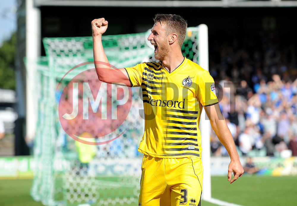 Lee Brown - Mandatory byline: Neil Brookman/JMP - 07966386802 - 15/08/2015 - FOOTBALL - Huish Park -Yeovil,England - Yeovi Town v Bristol Rovers - Sky Bet League One