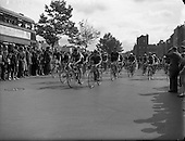 1952 Cycle Race from Dublin to Galway