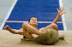 Soon-ok Jung of Korea competes in the women's Long Jump Qualification during day seven of the 12th IAAF World Athletics Championships at the Olympic Stadium on August 21, 2009 in Berlin, Germany.(Photo by Vid Ponikvar / Sportida)