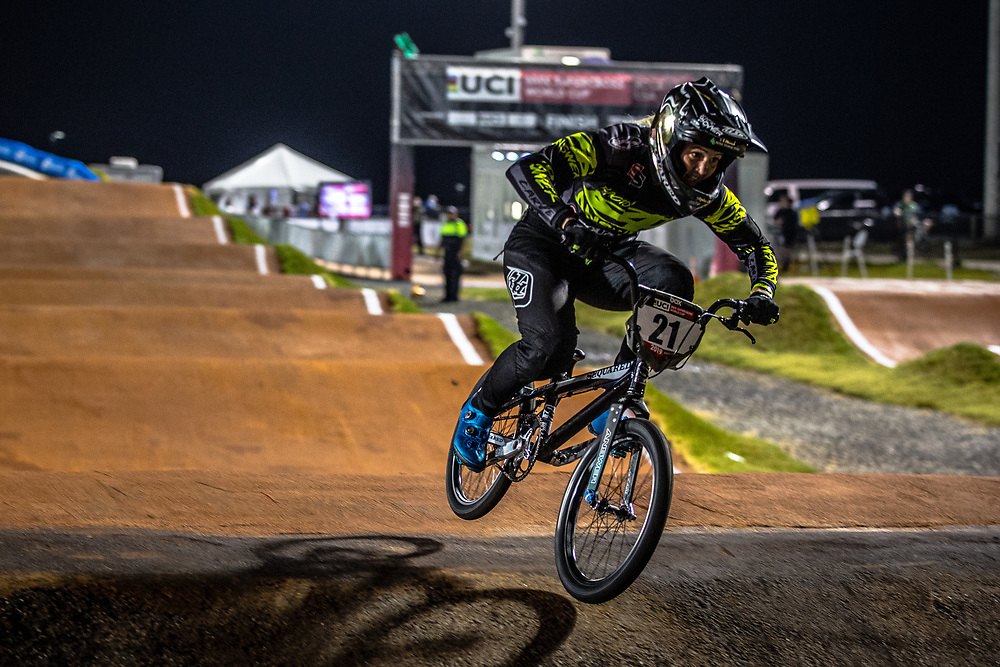 #21 (REYNOLDS Lauren) AUS [Ssquared, Answer, TLD, Shimano] at Round 7 of the 2019 UCI BMX Supercross World Cup in Rock Hill, USA