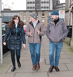 Public Health Minister Joe Fitzpatrick MSP visited the Street Outreach Programme in Edinburgh today, Friday 4th January 2019<br /> <br /> The programme provides essential primary health care for homeless patients.<br /> <br /> <br /> Pictured:  Joe Fitzpatrick MSP with two pharmacists from the programme<br /> <br /> Alex Todd | Edinburgh Elite media