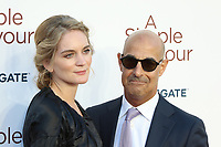 Felicity Blunt, Stanley Tucci, A Simple Favour - UK Premiere, BFI Southbank, London, UK, 17 September 2018, Photo by Richard Goldschmidt