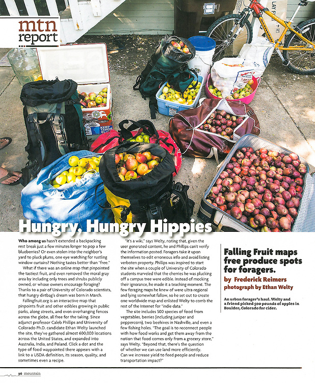 Mountain Magazine: Hungry, Hungry Hippies (Summer 2013)
