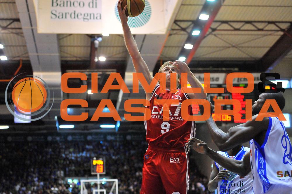 DESCRIZIONE : Campionato 2013/14 Semifinale GARA4  Dinamo Banco di Sardegna Sassari - Olimpia EA7 Emporio Armani Milano<br /> GIOCATORE : Nicolo' Melli<br /> CATEGORIA : Tiro Penetrazione<br /> SQUADRA : Olimpia EA7 Emporio Armani Milano<br /> EVENTO : LegaBasket Serie A Beko Playoff 2013/2014<br /> GARA : Dinamo Banco di Sardegna Sassari - Olimpia EA7 Emporio Armani Milano<br /> DATA : 05/06/2014<br /> SPORT : Pallacanestro <br /> AUTORE : Agenzia Ciamillo-Castoria / Luigi Canu<br /> Galleria : LegaBasket Serie A Beko Playoff 2013/2014<br /> Fotonotizia : DESCRIZIONE : Campionato 2013/14 Semifinale GARA4 Dinamo Banco di Sardegna Sassari - Olimpia EA7 Emporio Armani Milano<br /> Predefinita :