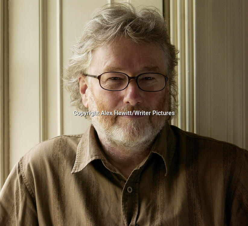 A portrait of Iain Banks during events at the Borders Book Festival 2007, held in Melrose in the Scottish Borders.<br /> <br /> Copyright Alex Hewitt/Writer Pictures <br /> contact +44 (0)20 822 41564<br /> sales@writerpictures.com <br /> www.writerpictures.com