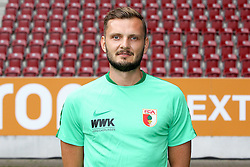 08.07.2015, WWK Arena, Augsburg, GER, 1. FBL, FC Augsburg, Fototermin, im Bild Physio Marco Grimm (FC Augsburg) // during the official Team and Portrait Photoshoot of German Bundesliga Club FC Augsburg at the WWK Arena in Augsburg, Germany on 2015/07/08. EXPA Pictures © 2015, PhotoCredit: EXPA/ Eibner-Pressefoto/ Kolbert<br /> <br /> *****ATTENTION - OUT of GER*****